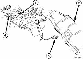 where is the oxygen sensor located on a 2002 chrysler town 7