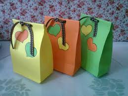 diy 1 cute paper bags for gift youtube