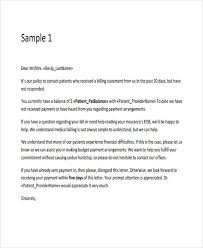 7 collection letter templates 7 free sample example format