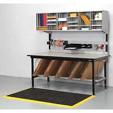 packing table with shelves calstone packing station black silver staples