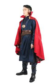 amazon com strange costume deluxe dr red cape full set