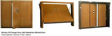 Security Garage Door by Silvelox Garage Doors Quality High Security Wicket Door