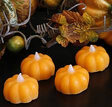 led pumpkin tea lights check out the deal on battery operated candle impressions wax