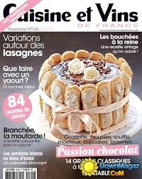 cuisine et vins cuisine et vins de novembre 2014 no 160 pdf