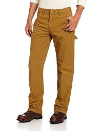 dickies men u0027s relaxed straight fit lightweight duck carpenter jean