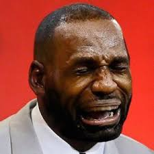 Crying Memes - crying jordan who the internet launches crying lebron in wake of