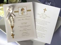 rosary favors for baptism baptism christening photo remembrance cards mini rosary favors
