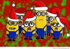minion christmas cartoon u2013 thefunnyplace