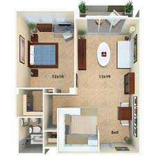 1 bedroom floor plan flamingo south beach north and south towers miami beach fl