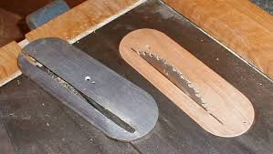 table saw dado blade insert table saw throat plate insert