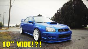 subaru xxr wide wheels for the blobeye crazy poke youtube