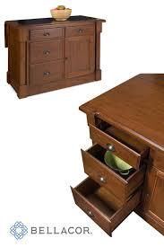 aspen kitchen island home styles furniture aspen rustic cherry granite top kitchen