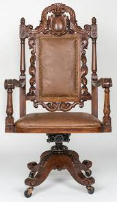 executive leather desk chair for sale at 1stdibs