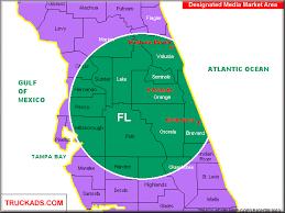 map melbourne fl truck ads orlando daytona melbourne designated market map