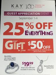 kay jewelers clearance kay jewelers customer appreciation event is back