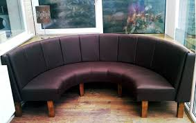 curved banquette seating lovely and artful seating for any