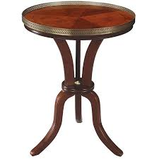 round wood accent table fancy cherry accent table vintage cherry finish wood round accent
