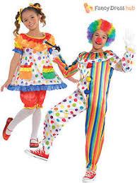 clown jumpsuit childs clown costume boys circus jumpsuit fancy dress
