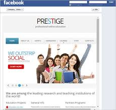 editable facebook template for students