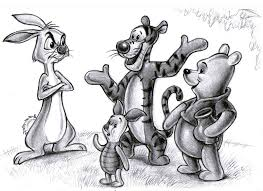 winnie the pooh and friends by zdrer456 on deviantart