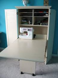 sewing armoire amazon com craft sewing machine cabinet storage armoire