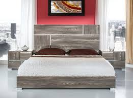 Italian Modern Bedroom Furniture Sets Bellissi Furniture Modrest Picasso Italian Modern Grey Lacquer