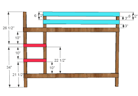 Wood Plans Bunk Bed by Ana White Classic Bunk Beds Diy Projects