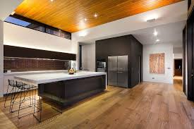 Kitchen Island Countertop Overhang Island Overhang Kitchen Contemporary With Black Metal Wire Bar