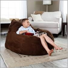 funiture dark brown bean bag chairs mixed with corner white