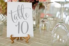 silver wedding table numbers silver wedding table numbers printable wedding table numbers