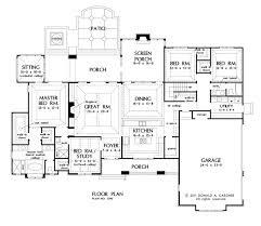 floor plans with large kitchens luxury idea 12 house plans with large kitchens and porches home