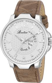 Britex Stainless by Britex Bt6193 Day And Date Functioning Watch For Men Buy