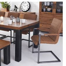 hudson industrial dining table u2013 azura home style