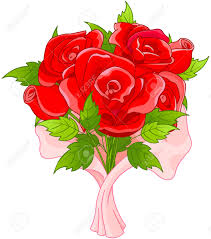 bouquet of roses illustration of bouquet of roses royalty free cliparts vectors