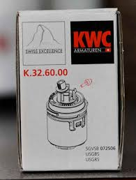 kitchen faucet cartridge replacement how to replace the cartridge in a kwc domo faucet