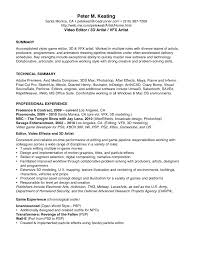 Sample Resume Objectives For Electrician by Video Resumes Samples Uxhandy Com