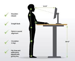 ideal standing desk height how to determine your ideal standing desk height standingdeskgeek com
