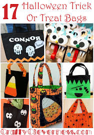 17 halloween trick or treat bags crafty cleverness