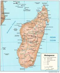 India Physical Map by Madagascar Physical Map U2022 Mapsof Net