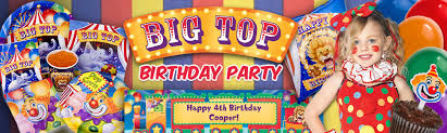 carnival party supplies carnival party ideas circus party ideas at birthday in a box