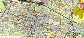 map of bologna bologna printable vector map atlas 25 parts editable