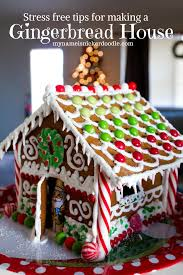 stress free tips for making a christmas gingerbread house