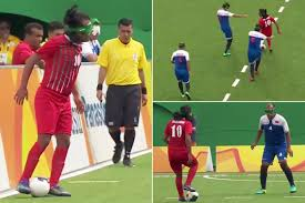Paralympics Blind Football Rio Paralympics 2016 Watch Incredible Moment Iranian Blind