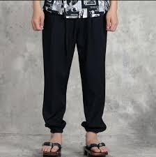 pantalon cuisine homme japonais cuisine chef pantalon homme et femme noir serveuse pantalon
