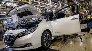 new 2018 nissan leaf to be built in britain motoring research