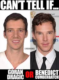 Benedict Cumberbatch Meme - nba memes on twitter can t tell if goran dragic or benedict