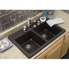 Corstone Kitchen Sink With Attached Drainboard In Cinnabar For - Corstone kitchen sink