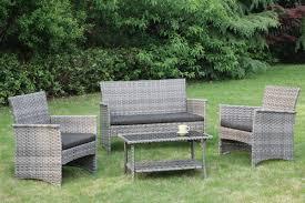 Discount Patio Furniture Orlando by Lizkona 4 Pcs Bench Patio Furniture