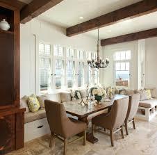 custom made custom built in dining room bench seating 87