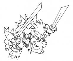 baby bowser coloring pages kids adults coloring